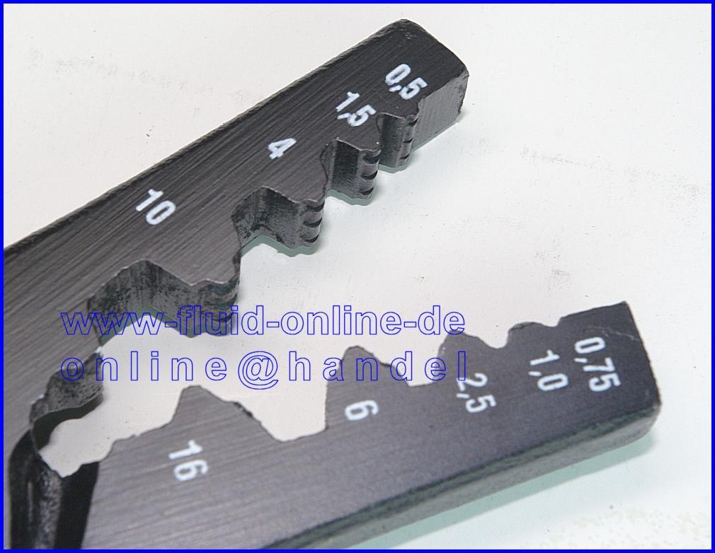 bgs 1430 set zange crimpzange f r aderendh lsen 150. Black Bedroom Furniture Sets. Home Design Ideas