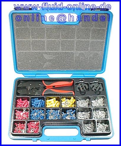 Kabelschuhsortiment 1000 Verbinder