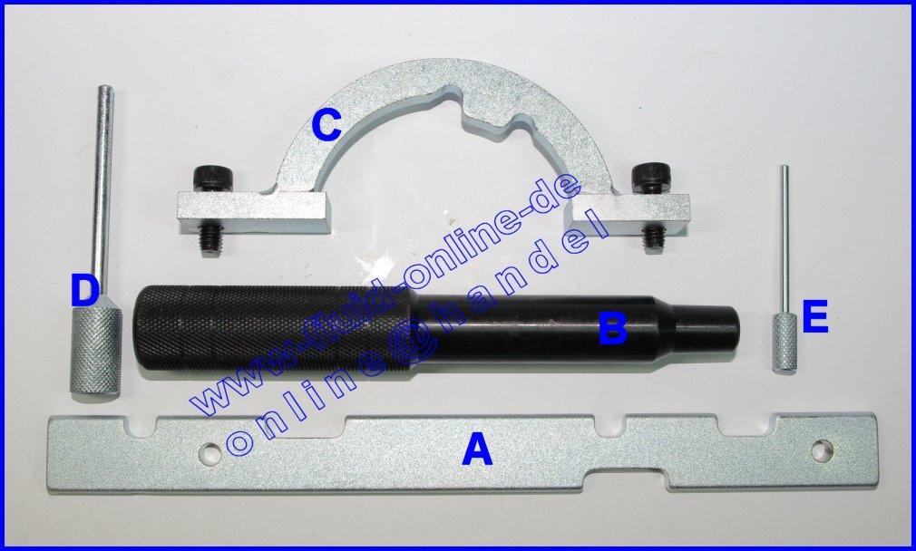 satz 6307 opel einstellwerkzeug steuerkette 1 0 1 2 1 4. Black Bedroom Furniture Sets. Home Design Ideas