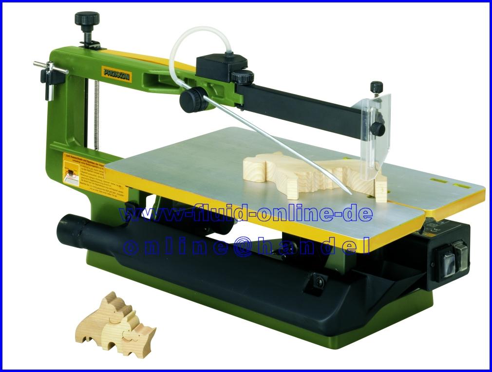 proxxon 27094 2 gang dekupiers ge ds460 460mm arml nge schnellwechsel system neu ebay. Black Bedroom Furniture Sets. Home Design Ideas