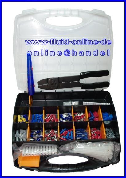 Sortiment Kabelschuhe 210 teilig