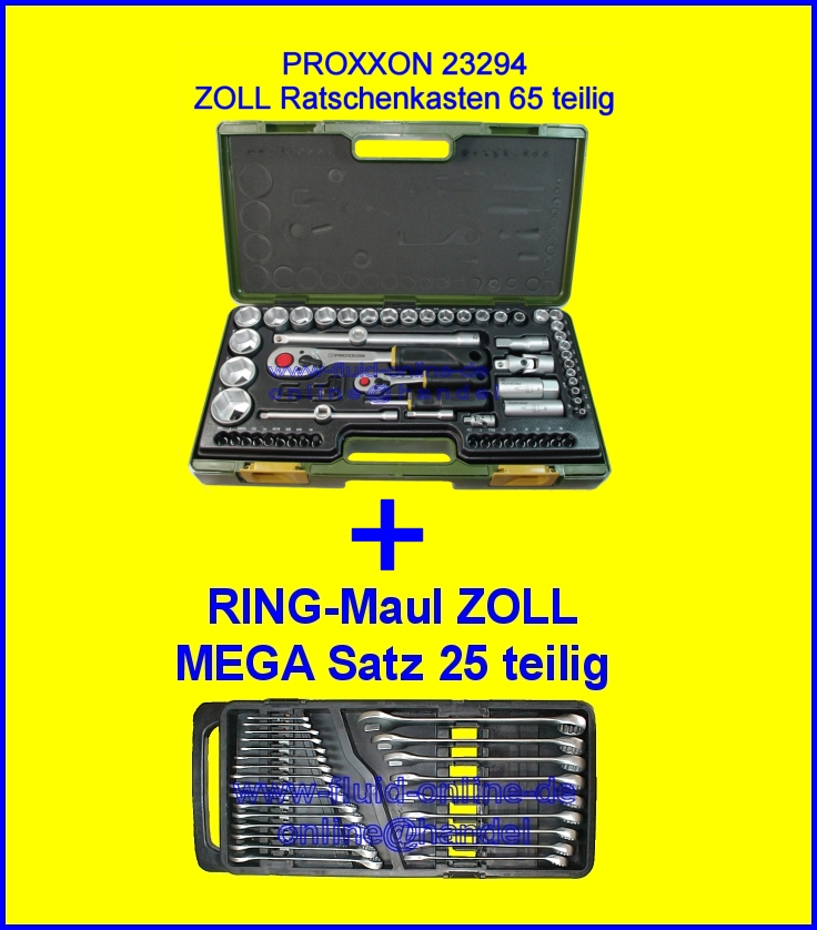Zoll Paket 23294 + XXL RingMaulschlssel