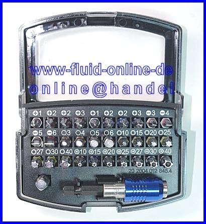 BGS 4816 COLOR Bitsatz Bits mit Farbcode 32teilig PH PZ Kreuz Schlitz Torx HX C3
