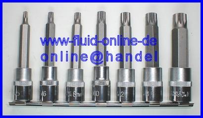 Vielzahn Nuss Bit XZN M16x100 mit Bohrung für Getriebe AUDI A3 A4 A6 3357 T3023
