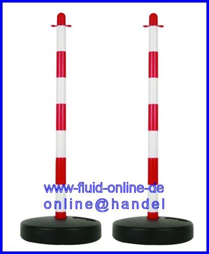 1187-500 500 Meter Trassierband ROT WEISS Absperrband Warnband Flatterband NEU