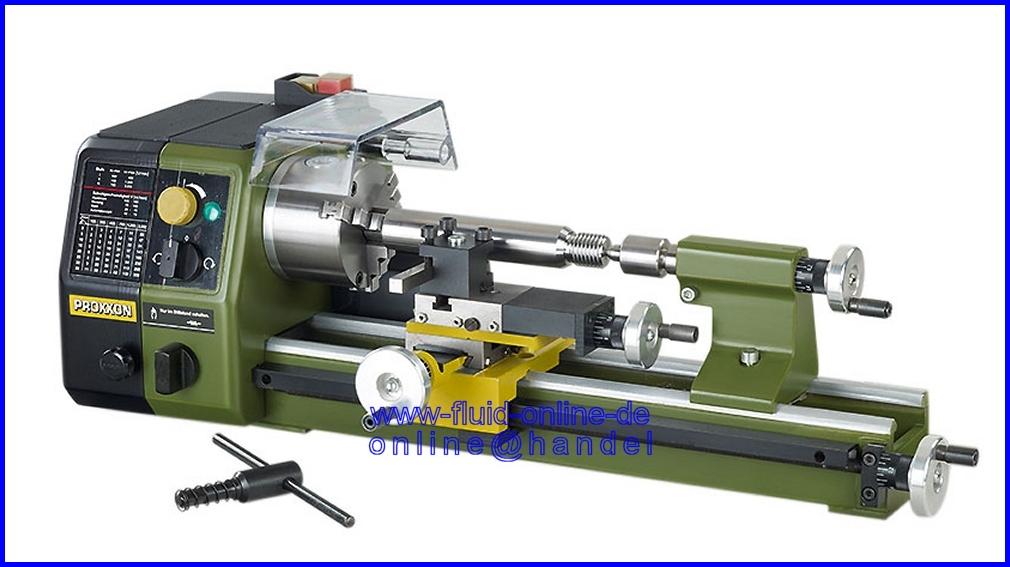 PROXXON 24002 Präzisionsdrehmaschine PD250/e Drehmaschine ...