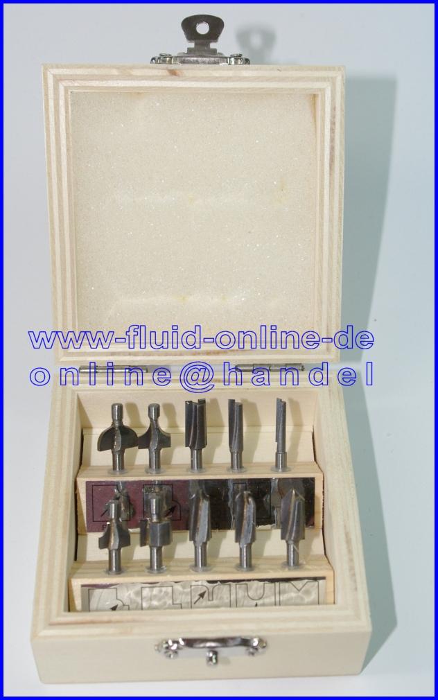 Formfr/äser Durchmesser 6,5mm Proxxon 29032 V-Nutfr/äser