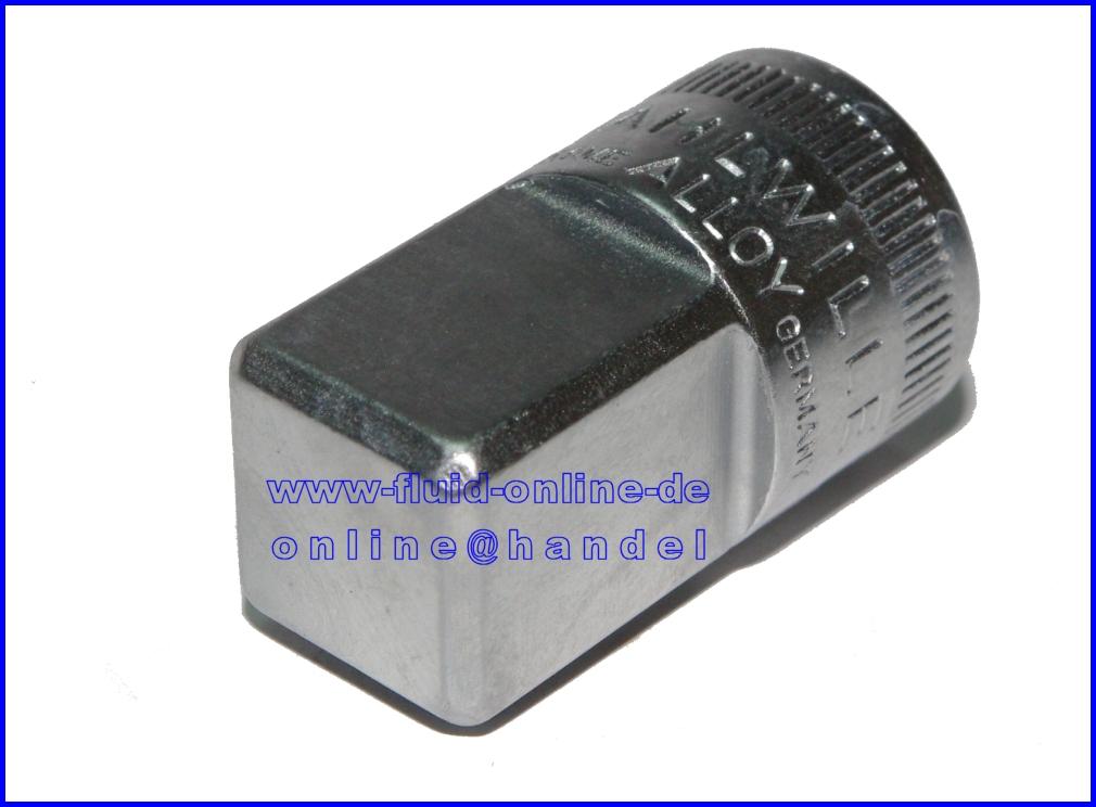 stahlwille 410 adapter innen 6 3mm 1 4 auf aussen 12 5mm 1 2 11030003 neu ebay. Black Bedroom Furniture Sets. Home Design Ideas